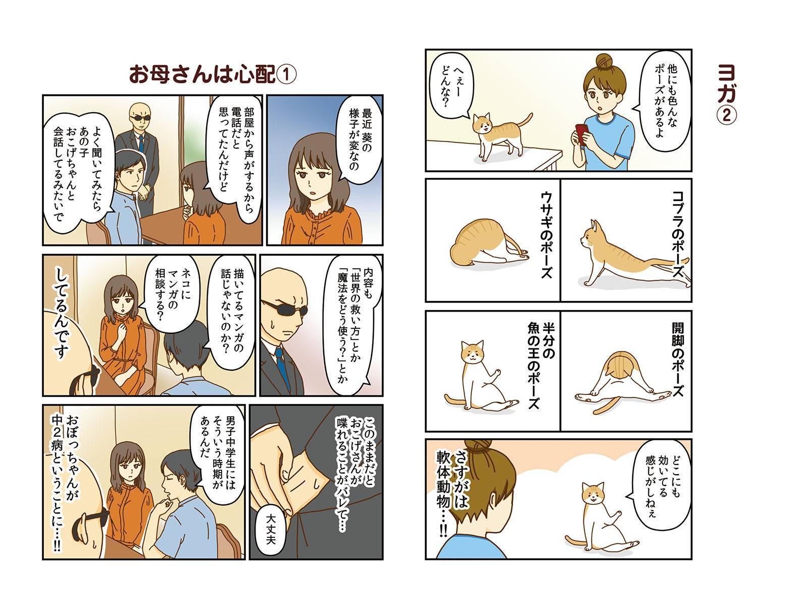 ネコの手、借りてます。
